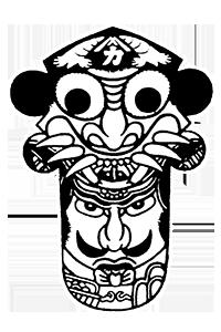 かつみの商標:「壱岐の鬼凧」
